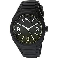 Puma PU103592006 Gummy Pop-Color Unisex Watch (Fading Black / Yellow)