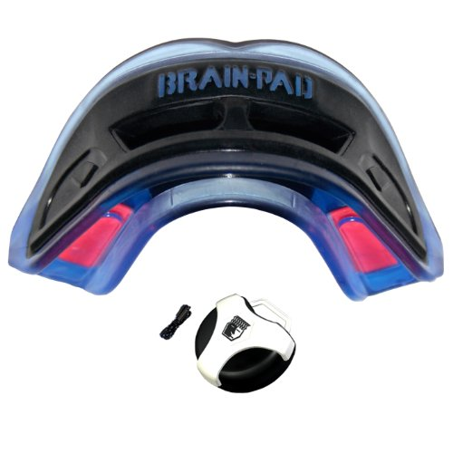 Brain-Pad 3Xs Triple Laminated Strap/Strapless Combo (Black/Blue) Adult front-905977