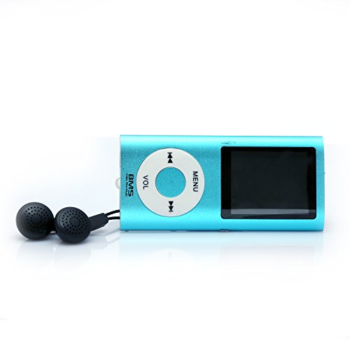BMS Nano Multimedia MP4 Music Player with 4GB in-built Memory and FM Radio (Blue)