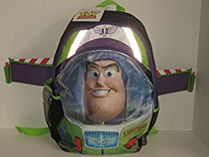 Buzz Lightyear Space Ranger Backpack with WINGS! by Global Design Concepts