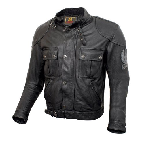 Belstaff Mojave jacket black aged leather - M