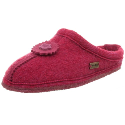 Cheap Haflinger Celine Applique Boiled Wool Indoor Slipper (B000W4O85W)