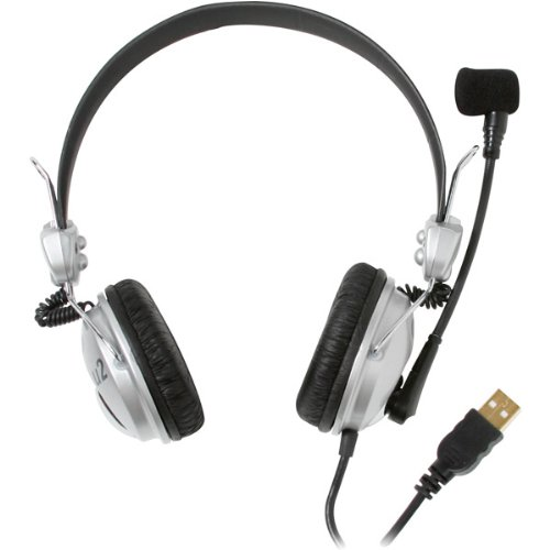 Brand New Cad Usb Stereo Headphones With Microphone