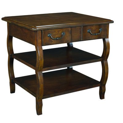 Cheap Hammary Siena Rectangular Storage End Table in Tuscany (T10079-T1007921-00)