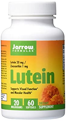 Jarrow Formulas Lutein 20 mg Softgels
