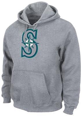 MLB Seattle Mariners Suede Tek Hooded Fleece Pullover