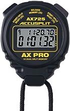 ACCUSPLIT AX725 Dual Line 16 Memory Pro Stopwatch