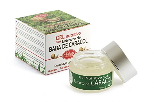 Snail Extract Nourishing Gel rejuvenating day and night cream for facial treatment by Nurana Cosmetics