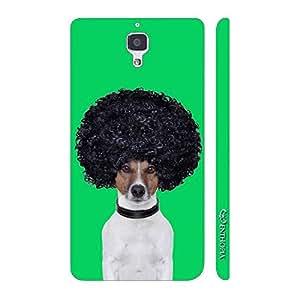 Enthopia Designer Hardshell Case AFRO DOG Back Cover for Xiaomi MI4