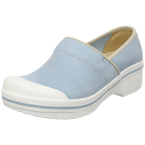Dansko Women's Volley Hopsack Clog,Blue,39 EU / 8.5-9 M US