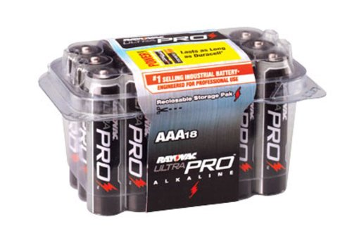 Rayovac ALAAA18 UltraPRO Alkaline AAA Batteries, 18Pack Picture