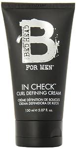 TIGI Bed Head for Men In Check Curl Defining Cream, 5.07 Ounce