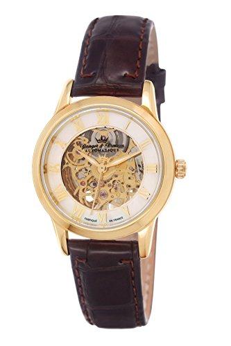Yonger & Bresson YBD 8525-33 - Orologio da polso donna, pelle, colore: marrone