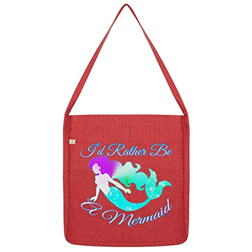 twisted-envy-id-rather-be-a-mermaid-red-tote-bag