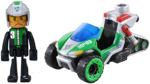 Tomica Hyper Hyper Series Green Ranger HGR03 hammerhead (japan import) - 1