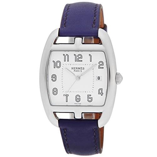 [エルメス]HERMES 腕時計 ケープコッドトノー ホワイト文字盤 デイト CT1.710.130.WW9K レディース 【並行輸入品】