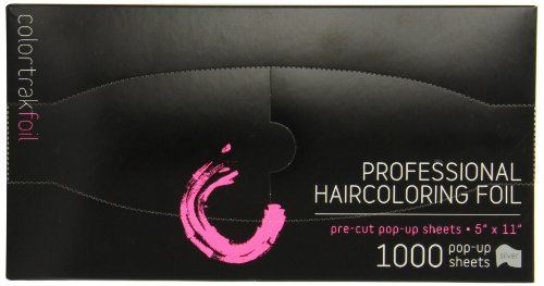 Colortrak Pre-cut Popup Highlighting Foil Sheets, Silver, 1000 sheets 5