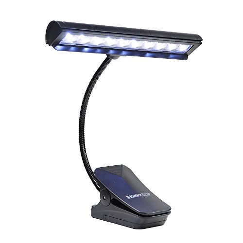 10 LED MUSIC STAND LIGHT / Orchestra Lamp / Piano Light by MAESTRO GEAR (Light Stand 10 Feet compare prices)