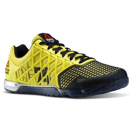 Reebok ,  Scarpe sportive indoor uomo giallo, giallo, 45.5