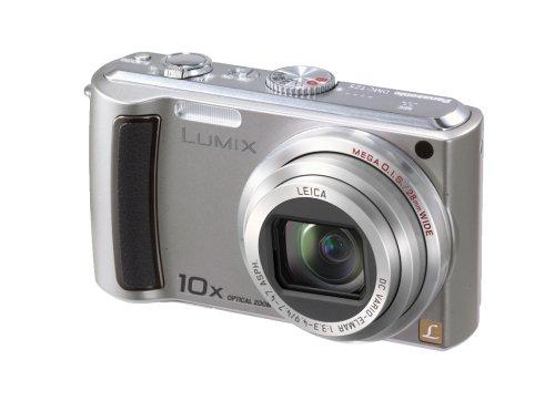 Panasonic Lumix DMC-TZ5S 9MP Digital Camera with 10x Wide Angle MEGA Optical Image Stabilized Zoom (Silver)