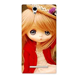 Special Angel Wearing Hat Multicolor Back Case Cover for Sony Xperia C3