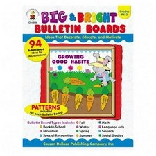 Bulletin Boards, Big and Bright, Grades PK-3, 128 Pages (CDPCD0049). - Buy Bulletin Boards, Big and Bright, Grades PK-3, 128 Pages (CDPCD0049). - Purchase Bulletin Boards, Big and Bright, Grades PK-3, 128 Pages (CDPCD0049). (Carson-Dellosa Publishing, Office Products, Categories, Office & School Supplies, Presentation Supplies, Presentation & Display Boards, Bulletin Boards)