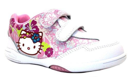 Hello Kitty  Rowan, Mädchen Sneaker Weiß weiß, Weiß - weiß - Größe: 10 UK