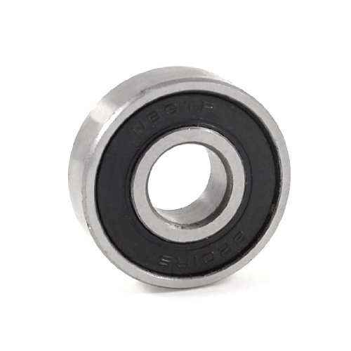 uxcell® 6201RS Shielded Deep Groove Ball Bearing 32mm x 12mm x 10mm
