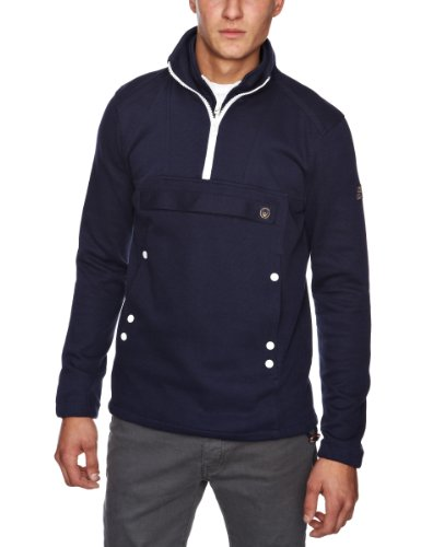 Duck and Cover Deemer Men's Top Prussian Blue Small