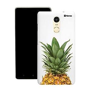 Customizable Hamee Original Designer Cover Thin Fit Crystal Clear Plastic Hard Back Case for Motorola / Moto G Plus 4th Gen / Moto G4 Plus / Moto G 4 + (Pineapple Top)