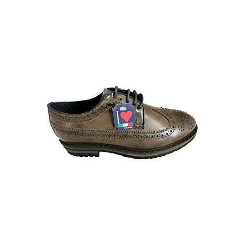 Soldini Scarpe Sneaker Francesine Uomo Mens an62 Testa di Moro (43)