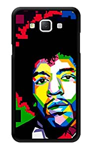 """Humor Gang Jimi Hendrix Pixels Printed Designer Mobile Back Cover For """"Samsung Galaxy A3"""" (3D, Glossy, Premium Quality Snap On Case)"""