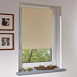 liedeco klemmfix rollo verdunkelnd mit thermobeschichtung breite 120 x h he 150 cm. Black Bedroom Furniture Sets. Home Design Ideas