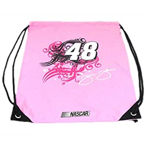 #48 Jimmie Johnson Pink Cinch Backpack By Olivet International 2645B48 by Brickels
