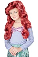 Little Mermaid Wig (Red) Child Accessory