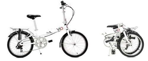 Vio Sprint Folding Bike, 20 Inch Wheels, 6 Speed