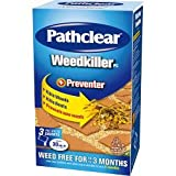Garden Weedkiller Kills Weeds and Roots Pathclear Weedkiller PC 3 Sachet Carton