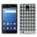 Argyle Flexible TPU Cover Skin Phone Case For Samsung Infuse 4G I997 - Clear
