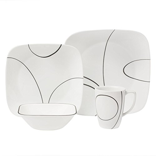 corelle-square-simple-lines-square-16-piece-dinnerware-set-service-for-4-black-white