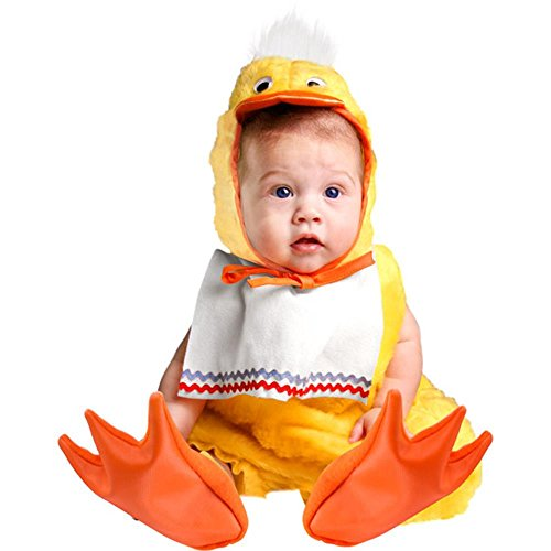 Charades Baby-girls Cute Duck Halloween Costume