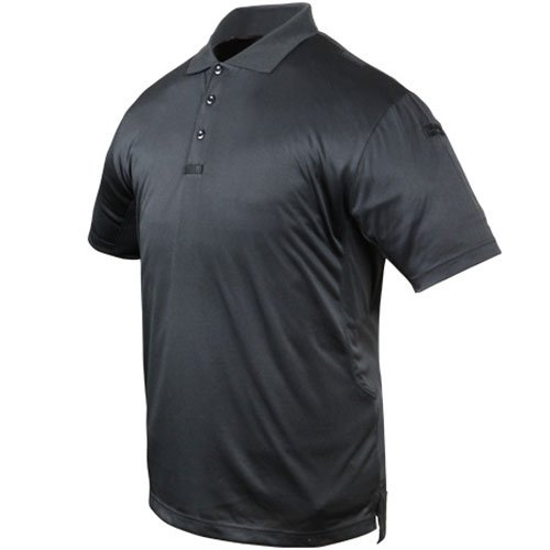 Condor Stealth Tactical Polo Shirt   Black   Medium