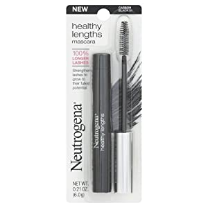 Neutrogena Healthy Lengths Mascara, Carbon Black, 0.21 Ounce