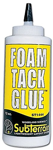 Woodland Scenics Foam Tack Glue 12 ounce