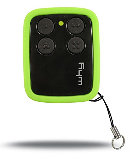 Radiocomando telecomando universale multifrequenza rolling code e codici fissi da 300 a 868mhz, AM e FM (nero + verde)