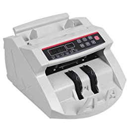 Sanvn Currency Cash Counter Bank Machine Uv and Mg Counterfeit Detector Automatic on and Off