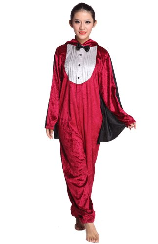 Chendvol Devil Masquerade Anime Unisex Cosplay Ball Costume Jumpsuits