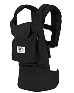 ERGObaby Organic Baby Carrier, Black
