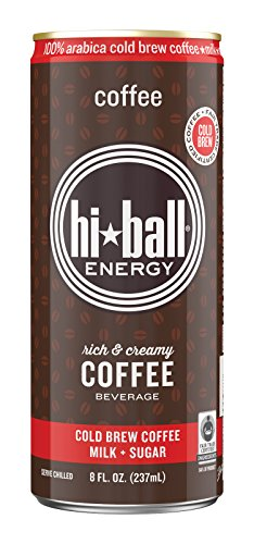 Hiball Energy Cold Brew Coffee Beverage, Coffee, 12 Count