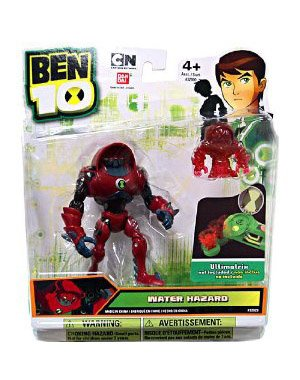 Picture of Bandai Ben 10 Alien 4 Inch Action Figure Water Hazard Includes Minifigure For Revolution Ultimatrix (B0059X4US6) (Ben 10 Action Figures)