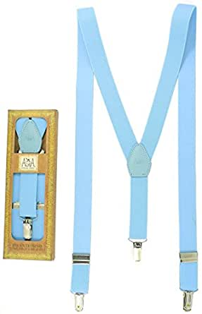 Premium Quality 7-13 Years Boys Braces & Girls Braces - Firm clasps - Made in Spain - 12 Months Guarantee (Baby Blue)